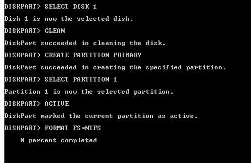 disco de instalación USB