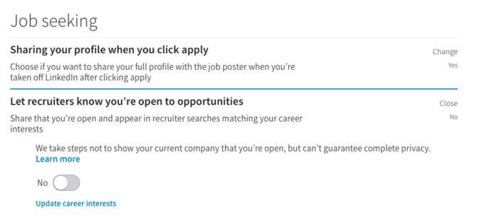 linkedin la búsqueda de empleo