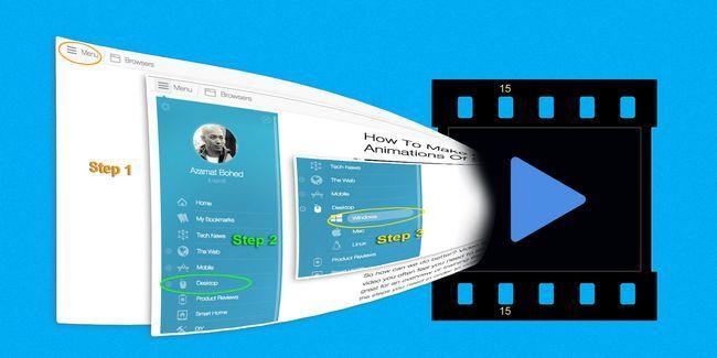 Cómo hacer videos rápidos y animaciones gif de grabaciones de pantalla (y por qué)