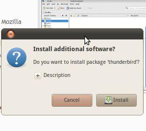 Cómo hacer enlaces de un solo clic para la instalación del software [ubuntu]