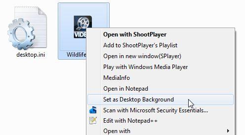 cómo hacer fondo de pantalla de vídeo