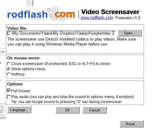 cómo hacer de pantalla de vídeo