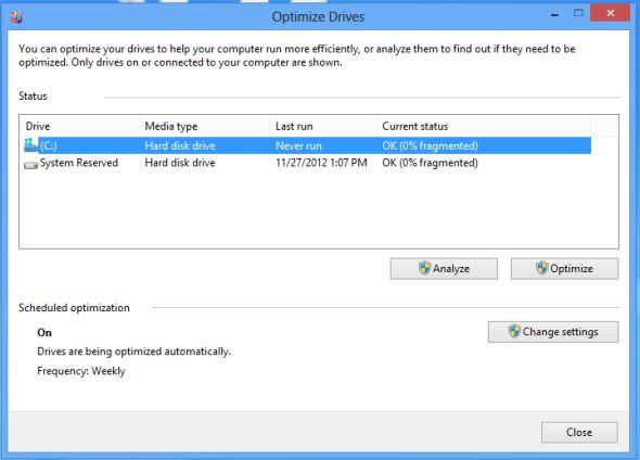 hacer que Windows 8 funcione más rápido
