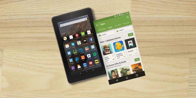 Cómo hacer que su tableta de amazon fuego parezca android de valores