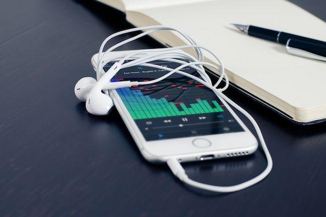 aplicación de teléfono de la calidad de streaming de música