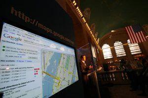 Fuera de la herramienta de mapa personalizado, Google Maps sólo da mediciones de distancias lineales.