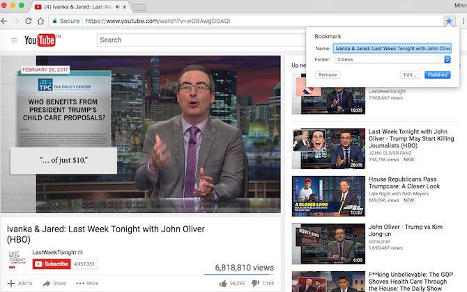 navegadores de marcadores de vídeo