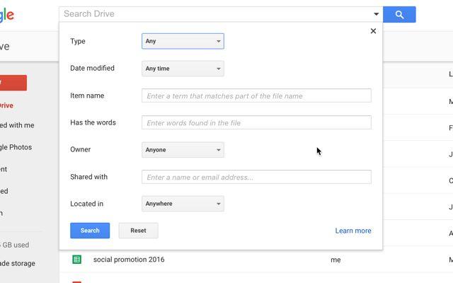 google-drive-avanzado de búsqueda
