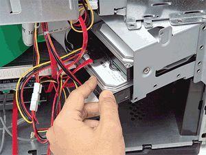 Como instalar físicamente a un segundo disco duro interno