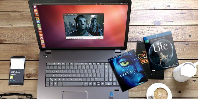 Cómo jugar blu-ray y películas de dvd en linux