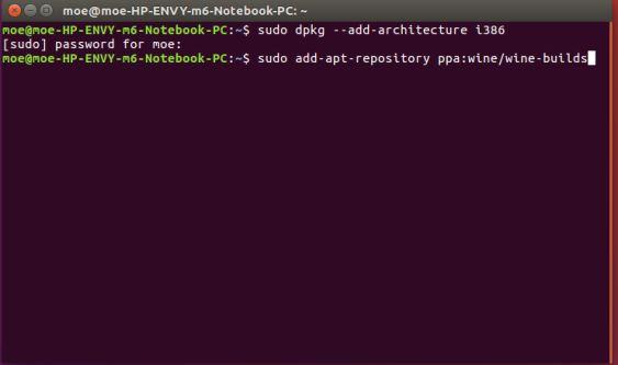 Vino instalar Ubuntu