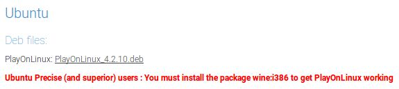 PlayOnLinux paquete Debian