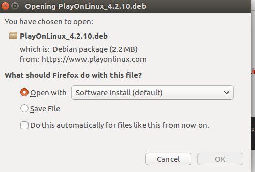 Instalar PlayOnLinux