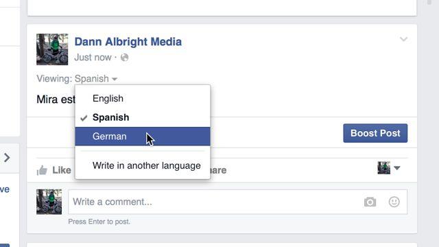 multilingües-options