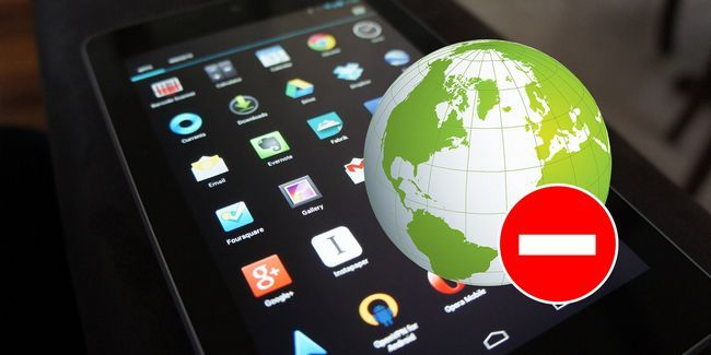¿Cómo prevenir cualquier aplicación de uso de datos móviles en android