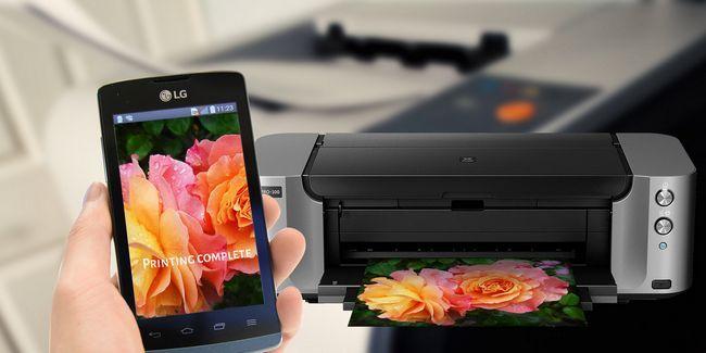 Cómo imprimir desde un teléfono android o tableta
