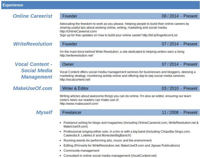 Plantilla reanudar LinkedIn laboratorios PDF