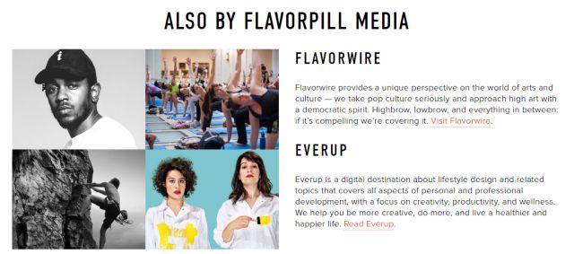 flavorpill medios