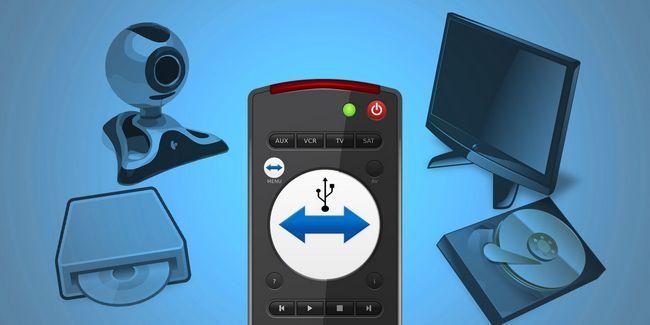 ¿Cómo controlar a distancia los dispositivos usb con teamviewer