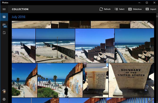 Microsoft aplicación Fotos