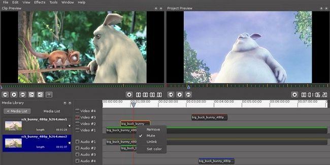 VLMC Video Editor