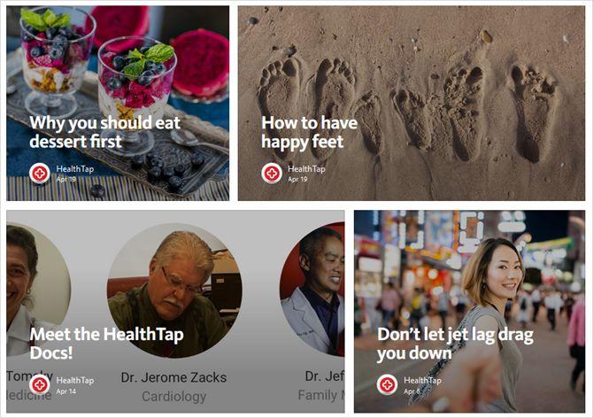 HealthTap web del blog
