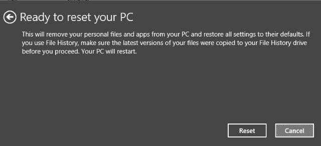 Muo-Windows8-borrado de recuperación de restablecimiento
