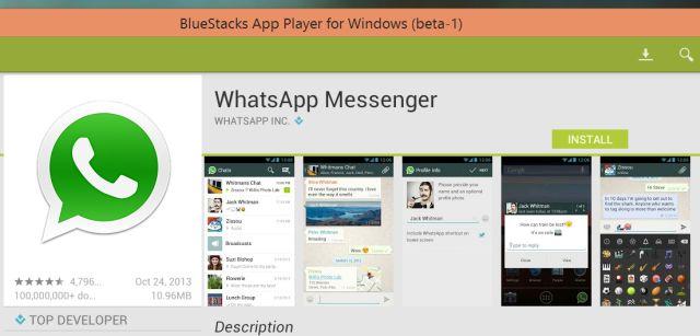 4 instalar WhatsApp en Windows