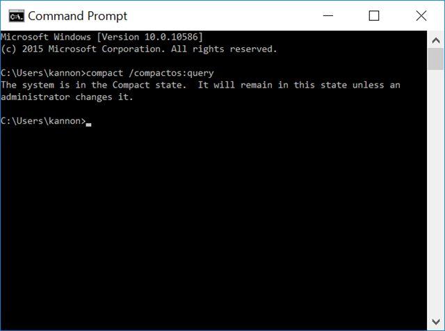 COMPACTOS comandos rápidos consulta
