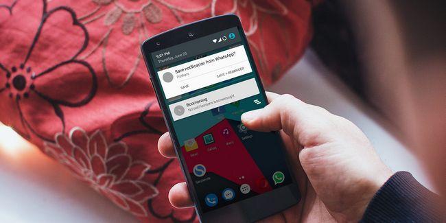 Cómo ahorrar notificaciones en android y establecer recordatorios para ellos
