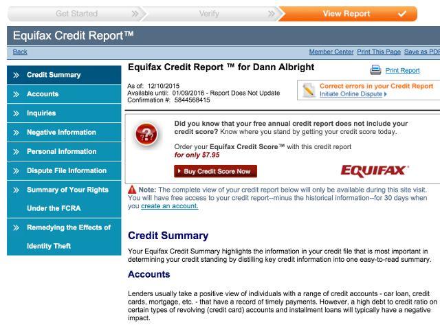 Equifax-crédito-informe