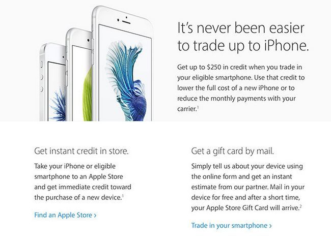 Programa iPhone Trade Up