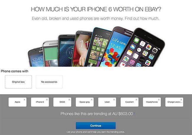 ¿Cuánto es un iPhone Worth en eBay?