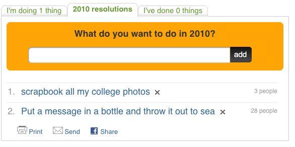 Ideas resoluciones de año nuevo