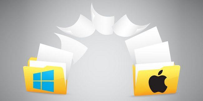 Cómo compartir archivos entre windows y mac sin necesidad de lanzamiento desde el aire