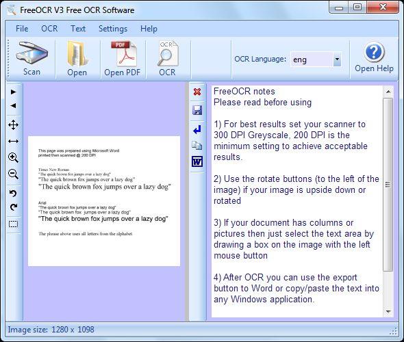 mejor software de OCR