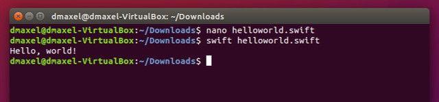 ubuntu-rápido-run-ejemplo