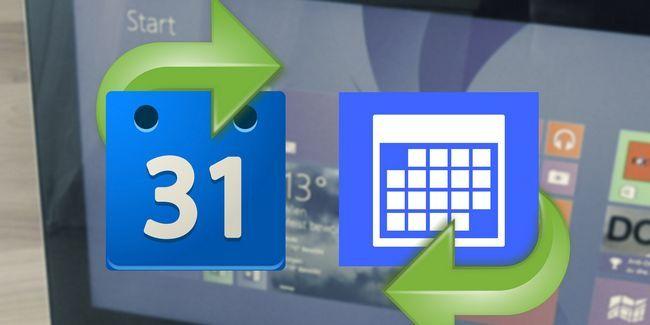 Cómo sincronizar las citas del calendario de google con windows 8