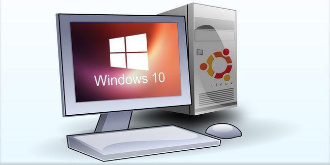 Cómo probar windows 10 si se está ejecutando linux