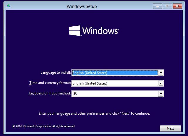 Configuración de VirtualBox de Windows