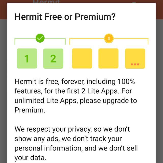 Ermitaños-android-Lite-apps-free-prima