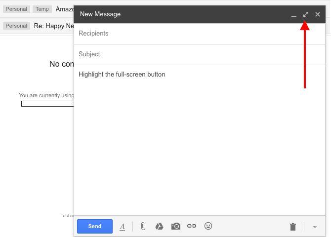 gmail-pantalla completa botón