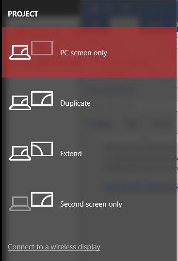 Windows 10 proyectar en la pantalla de TV