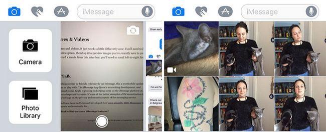 iOS Mensajes 10 Fotos