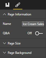 las ventas de helados