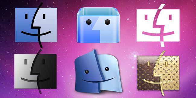 Cómo utilizar iconos personalizados en mac os x (y dónde encontrarlos)