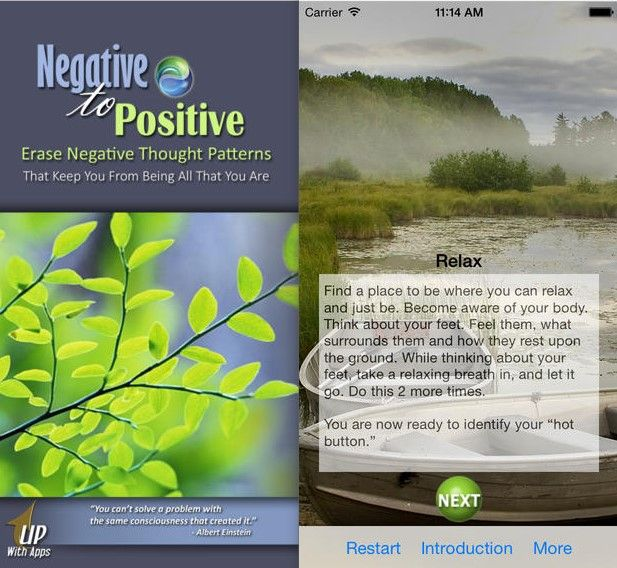 negativo a positivo