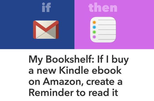 Kindle: recordatorios