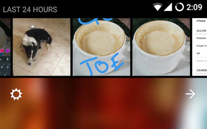 Historias de Instagram últimas 24 horas