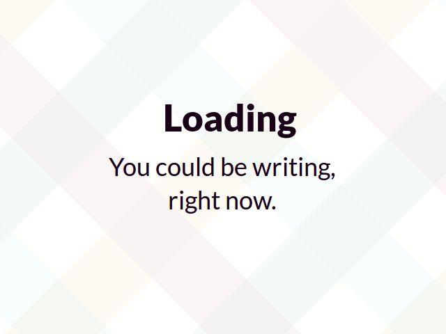 De pantalla slack-loading